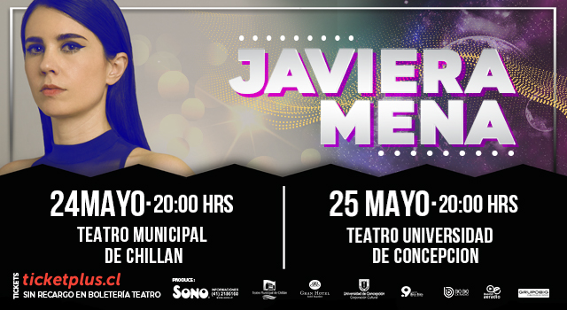 Banner Javiera Mena