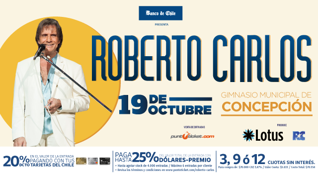Banner Roberto Carlos