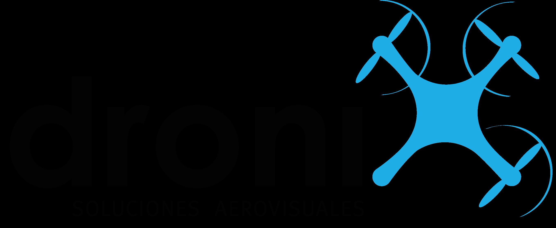 Logo Dronix Negro